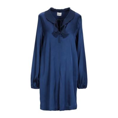 メルシー ..,MERCI ミニワンピース&ドレス ブルー 42 レーヨン 95% / ポリウレタン 5% ミニワンピース&ドレス