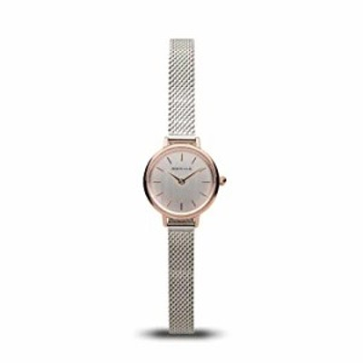 BERING Women's Quartz Watch with Stainless Steel Strap, Silver, 8 (Model: 11022-064)