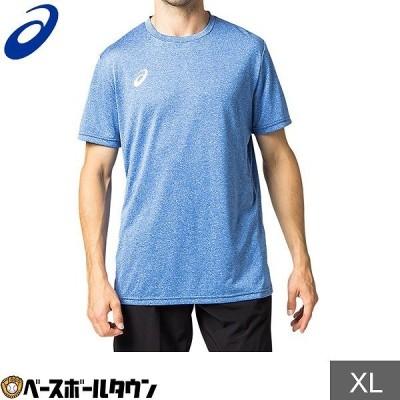 Tシャツ・ポロシャツ メンズアパレル アシックス asics OPショートスリーブトップ(杢)2031a675 メール便可