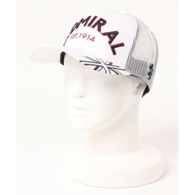 YAMANI GOLF / CAP アドミラルメッシュ MEN 帽子 > キャップ