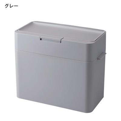 ニオイが漏れにくいワンタッチオープン式ゴミ箱<9.5L>