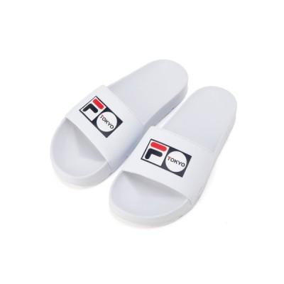 FILA サンダル メンズ レディース 歩きやすい ドリフター TOKYO WHITE