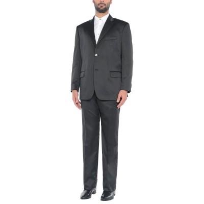 ANGELO NARDELLI スーツ ブラック 58 ポリエステル 54% / ウール 46% スーツ