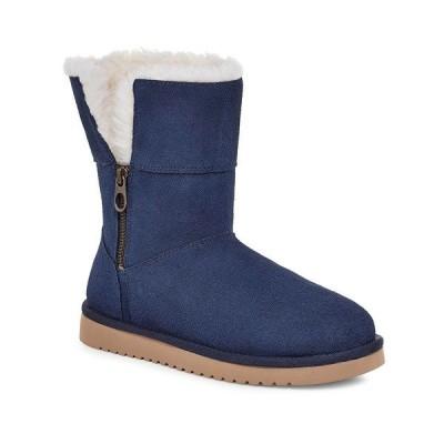 アグ ブーツ&レインブーツ シューズ レディース Women's Aribel Short Boots Insignia Blue