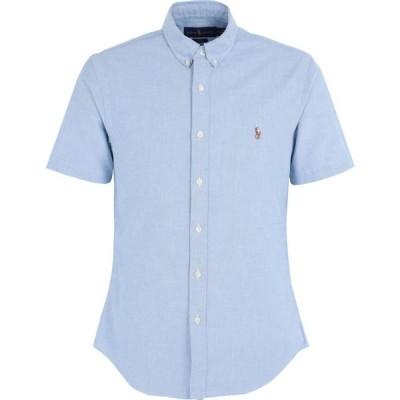 ラルフ ローレン POLO RALPH LAUREN メンズ シャツ ワイシャツ トップス slim fit classic oxford shirt Blue