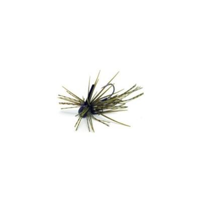 バス釣り用ハードルアー レイドジャパン エグダマ Type-LEVEL 2.5g #001 グリーンパンプキンシード