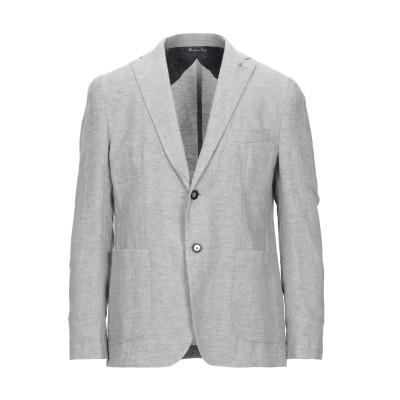 JERRY KEY テーラードジャケット グレー 48 コットン 50% / リネン 50% テーラードジャケット