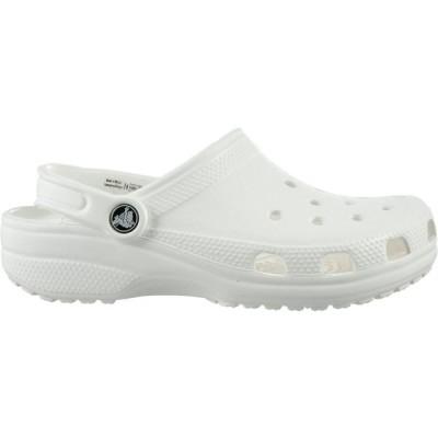 クロックス Crocs メンズ クロッグ シューズ・靴 Adult Classic Clogs White