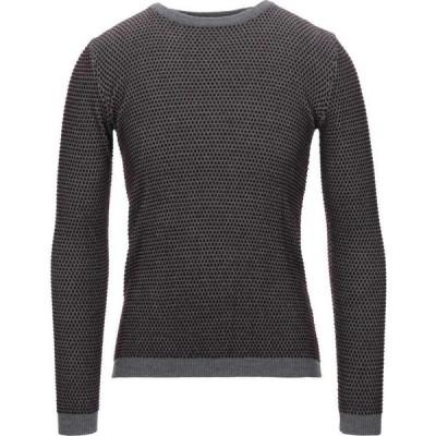 タッチバック TOUCH BACK メンズ ニット・セーター トップス Sweater Maroon
