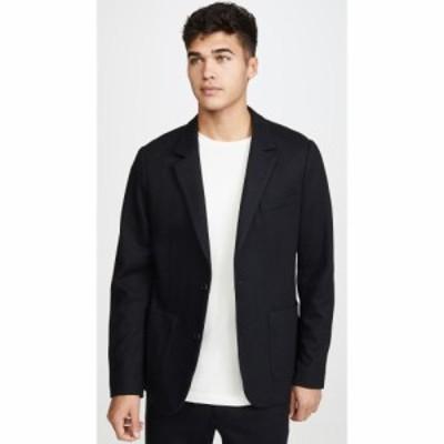 ヴィンス Vince メンズ スーツ・ジャケット アウター Bucket Pocket Unstructured Blazer Black