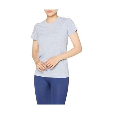 [ダンスキン] Tシャツ ノンストレスショートスリーブティー レディース (パープリッシュブルー L)