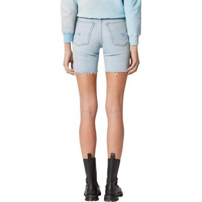 ハドソンジーンズ Hudson Jeans レディース 自転車 ショートパンツ ボトムス・パンツ Hana Mini Biker Shorts in Devout Devout