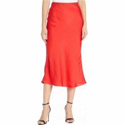 サンクチュアリ Sanctuary レディース ひざ丈スカート スカート Everyday Midi Skirt Party Red