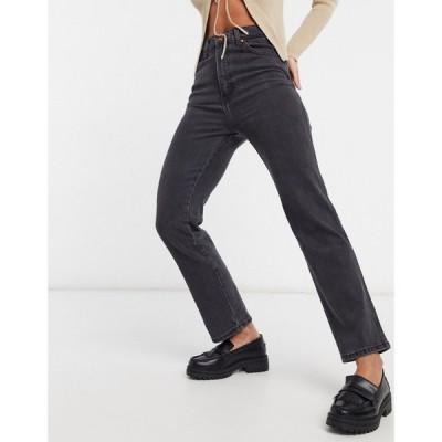 ラングラー Wrangler レディース ジーンズ・デニム ボトムス・パンツ Wild West High Rise Straight Leg Jeans In Black リンスドブラック
