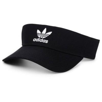 アディダスオリジナルス メンズ 帽子 アクセサリー adidas Originals Twill Visor Black