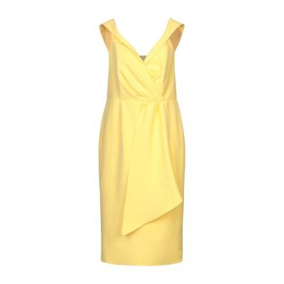 LAVISH ALICE 7分丈ワンピース・ドレス イエロー 10 ポリエステル 90% / ポリウレタン 10% 7分丈ワンピース・ドレス