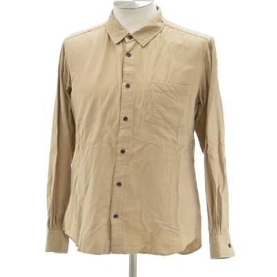ファクトタム FACTOTUM シャツ/ブラウス コットン 長袖 48サイズ ベージュ メンズ F-M6607