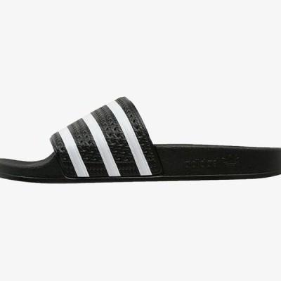 アディダス メンズ 靴 シューズ ADILETTE - Pool slides - black/white