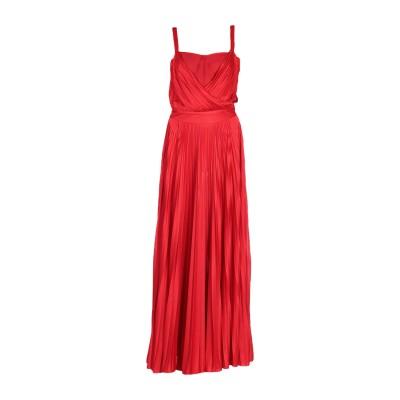 ピンコ PINKO ロングワンピース&ドレス レッド 42 92% ナイロン 8% ポリウレタン ロングワンピース&ドレス