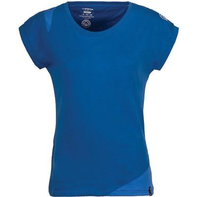 ラスポルティバ カットソー レディース トップス La Sportiva Women's Chimney T-Shirt Marine Blue / Cobalt Blue