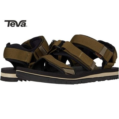 Teva CROSS STRAP TRAIL Dark Olive テバ クロス ストラップ トレイル Vibram ビブラムソール
