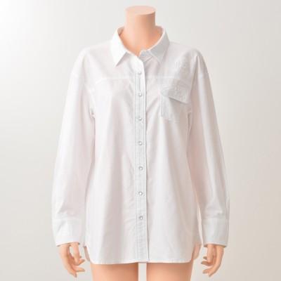 DENIMUS ダメージ加工入りシャツデニマス(DENIMUS)No.671509 通販 - QVCジャパン