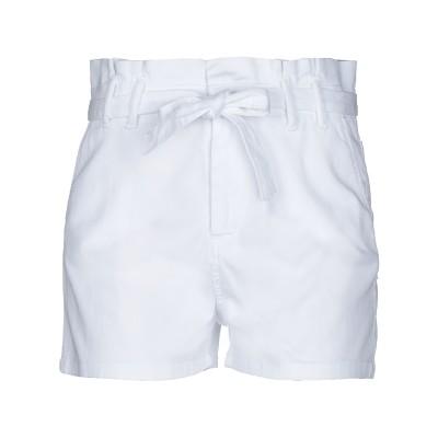 FLY GIRL ショートパンツ ホワイト 30 コットン 97% / ポリウレタン 3% ショートパンツ