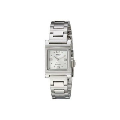 カシオ 腕時計  Casio LTP1237D-7A レディース ステンレス スチール アナログ ドレス 腕時計 ホワイト ダイヤル
