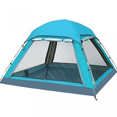 テント MIAO Outdoor 3-4 People Waterproof Anti-UV Camping Tents , blue