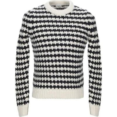 イヴ サンローラン SAINT LAURENT メンズ ニット・セーター トップス Sweater Black