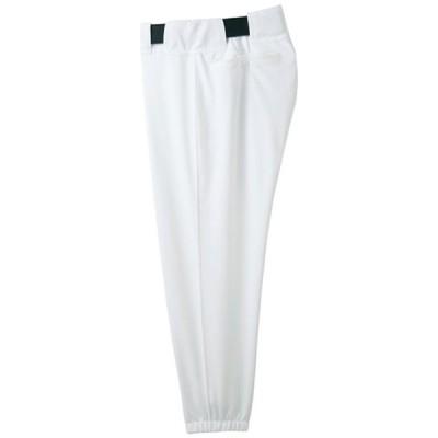 パンツ(ベルトループ型) (01ホワイト)  MIZUNO ミズノ 野球 ウエア ユニフォームパンツ (52PW38701)