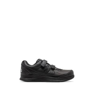 ニューバランス レディース スニーカー シューズ Health WLK Leather Sneaker BLACK