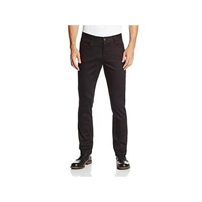 特別価格Lee Uniformsメンズskinny-leg 5ポケットパンツ カラー: ブラック好評販売中