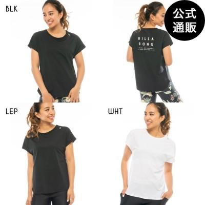 SALE 2020 ビラボン レディース ACTIVE RASH TEE トレーニングUVTシャツ 2020年秋冬モデル 全3色 M/L BILLABONG