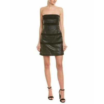 ファッション ドレス Ramy Brook Lacey Leather Sheath Dress