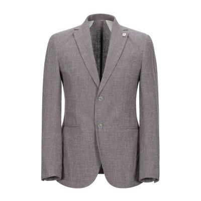 ハマキホ HAMAKI-HO テーラードジャケット グレー 46 コットン 70% / 麻 19% / ナイロン 11% テーラードジャケット