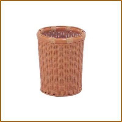 (送料無料)くずカゴ バスケット BC-12H(S) ▼ 籐製品のくずカゴ