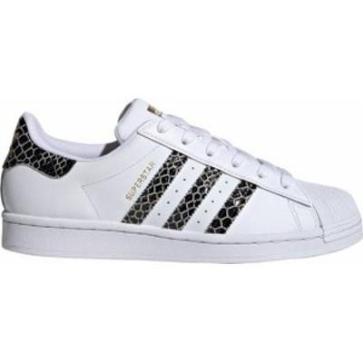 アディダス オリジナルス レディース adidas Originals Superstar スニーカー White/Black/Gold Metallic