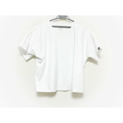 ノースフェイス THE NORTH FACE 半袖Tシャツ サイズM レディース 美品 - 白 クルーネック【中古】20210122
