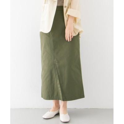 【ケービーエフ/KBF】 KBF カラーステッチサロン付きスカート