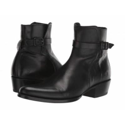 Frye フライ メンズ 男性用 シューズ 靴 ブーツ ドレスブーツ Grady Jodphur Black Vintage Veg Tan【送料無料】
