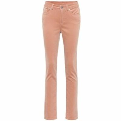 ロロピアーナ Loro Piana レディース ボトムス・パンツ Mathias stretch-velvet straight pants Pink