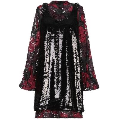 フレンチコネクション FRENCH CONNECTION ミニワンピース&ドレス ブラック 8 ポリエステル 100% ミニワンピース&ドレス