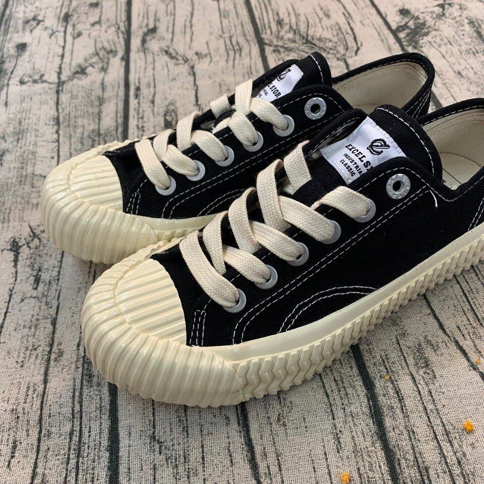 免運-DTK-實體店面韓國代購 EXCELSIOR 餅乾鞋 黑白配色 厚底 增高