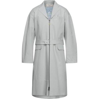 メゾン キツネ MAISON KITSUNE メンズ コート アウター Coat Light grey