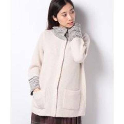 Leilian(レリアン)カシミヤニットジャケット
