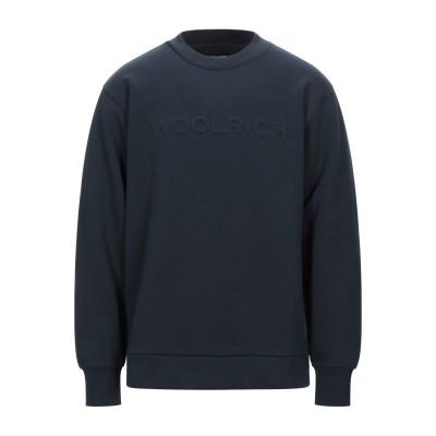 ウールリッチ WOOLRICH スウェットシャツ ダークブルー XXL コットン 100% スウェットシャツ