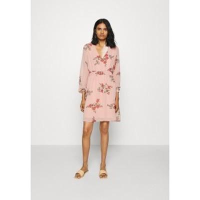 ヴェロモーダ レディース ワンピース トップス VMALLIE SHORT SMOCK DRESS - Day dress - misty rose misty rose