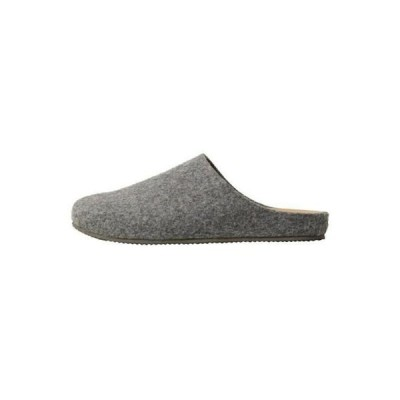 マンゴ メンズ 靴 シューズ Mules - gris chine clair