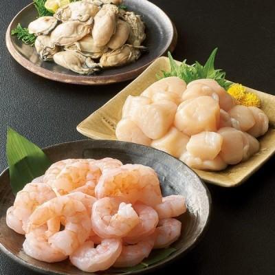 グルメ 食品 魚 海産物 海産加工品 冷凍水産品3種セット FG8531